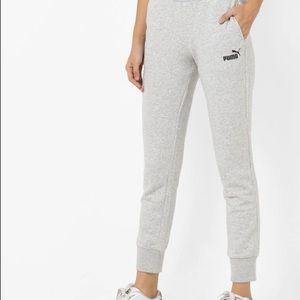 Puma grey joggers sweat pants